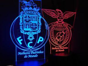 Lembrança para Padrinhos Acrílico 3D LED