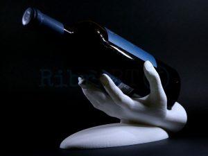 Suporte Garrafas Mão 3D