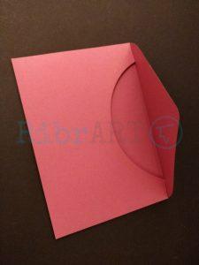 Envelope Convite Casamento Bordeaux