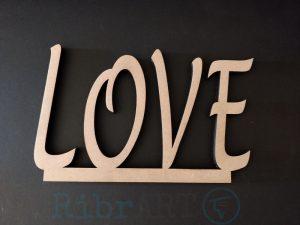 Letras Love para Mesa dos Noivos