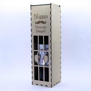 Caixa de Vinho Madeira Prisão