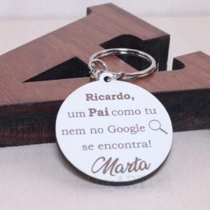 Porta Chaves Pai Google